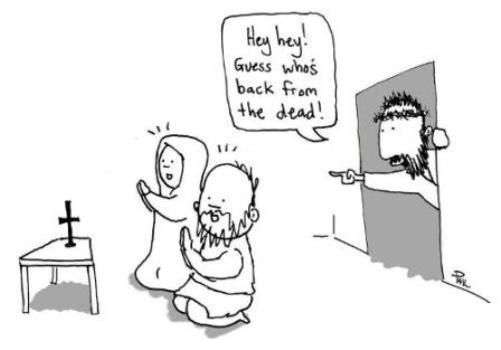 cheap for discount latest design the best attitude Hey, Hey, Guess who's back from the Dead | Christian Funny ...