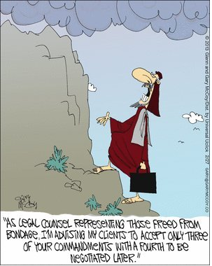If Moses Had A Lawyer Christian Funny Pictures A