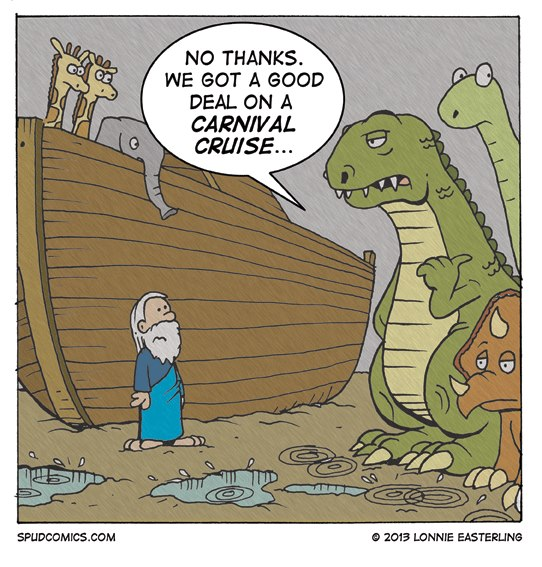 Noah S Ark And Carnival Cruises Christian Funny Pictures