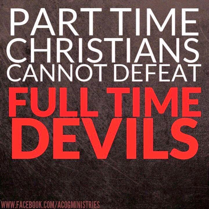 The problem with part time Christians   Christian Funny ...