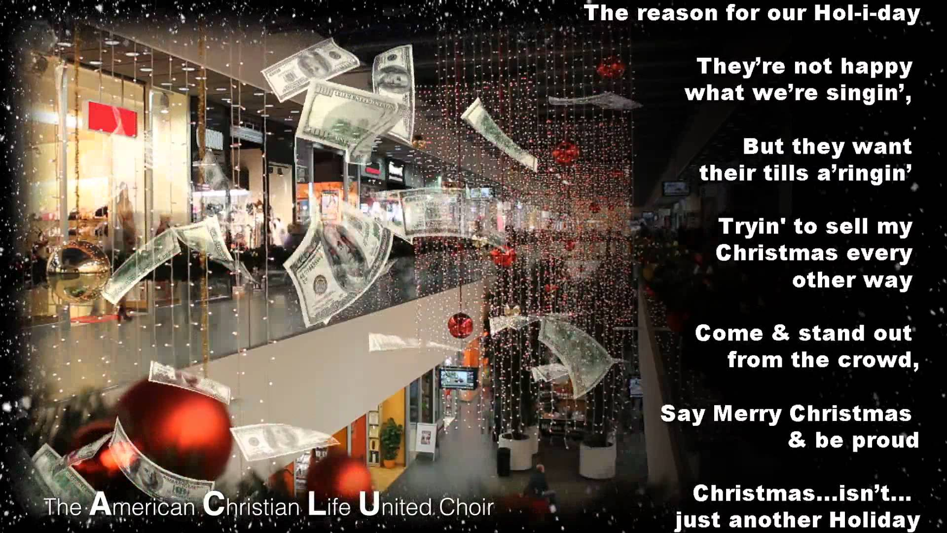 Say Merry Christmas – there is now a theme song | Christian Funny ...