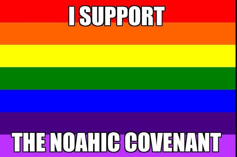 i support the noahic covenant