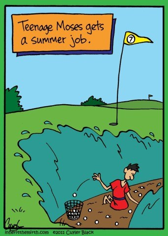 moses red sea summer job teenage