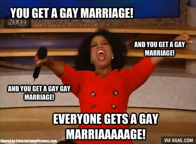 you get a gay marriage oprah