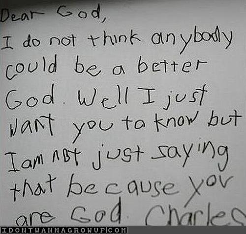 children write dear god letters 3