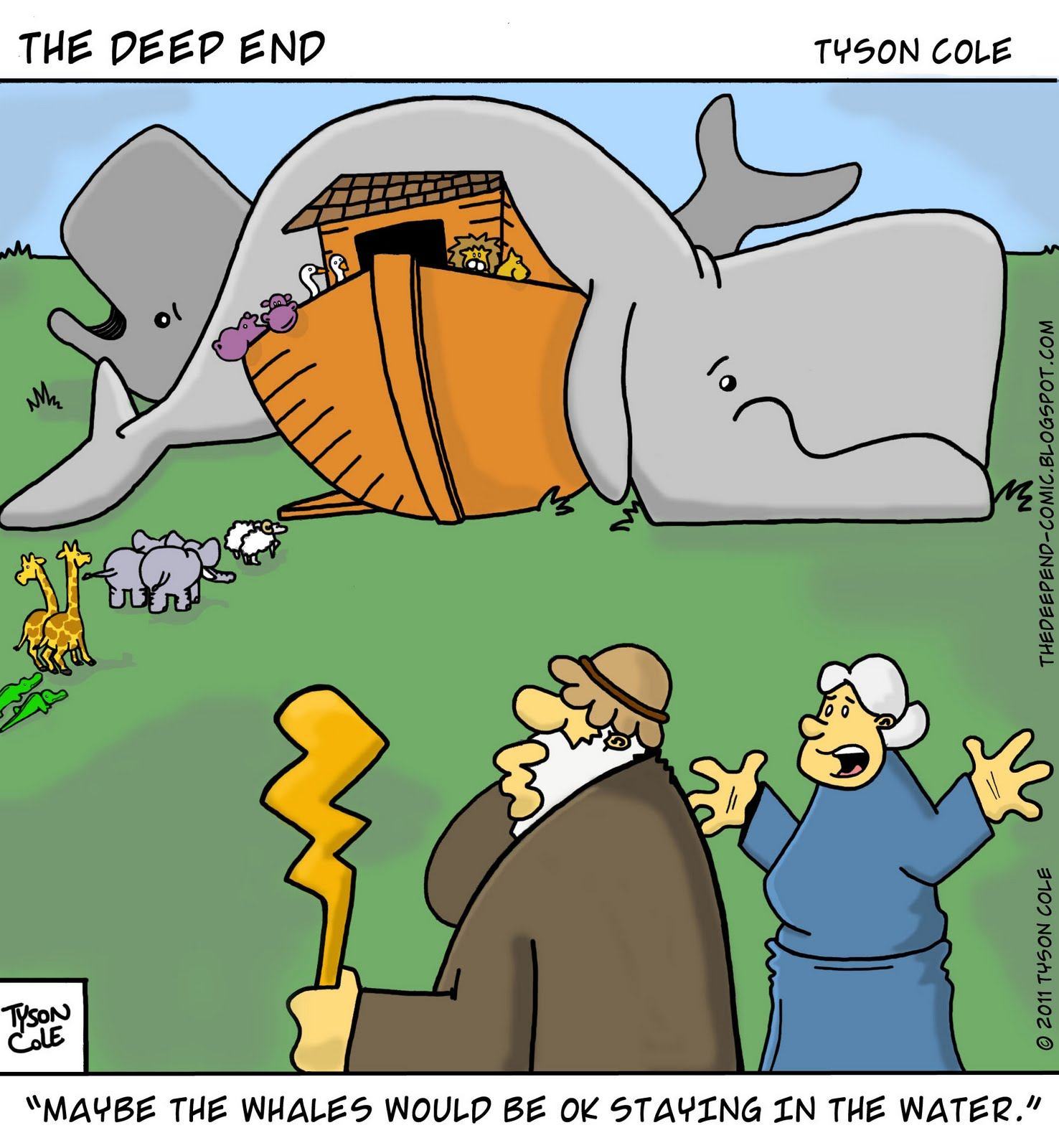 19 hilarious pictures about Noah and the Ark | Christian ...