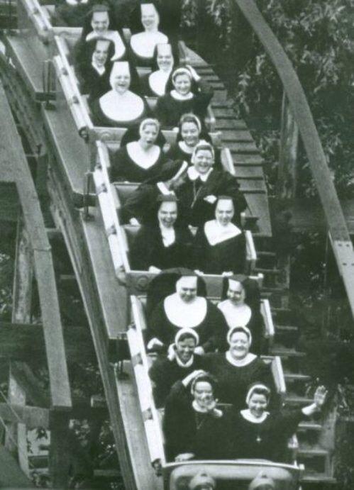 Nuns having fun 2