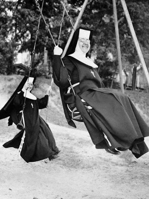 Nuns having fun 3
