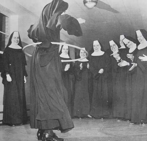 Nuns having fun 4