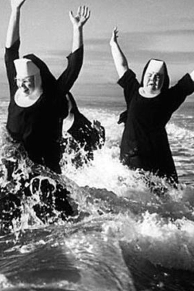 Nuns having fun 6