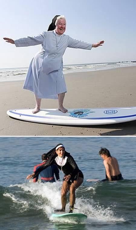 Nuns having fun 7
