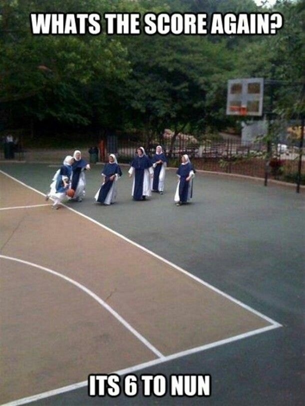 Nuns having fun 9