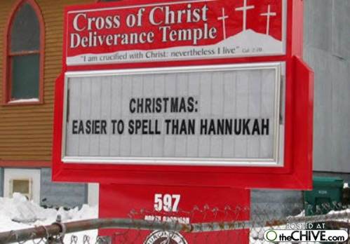 Church Christmas Sign 4