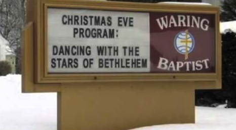 Church Christmas Sign 7