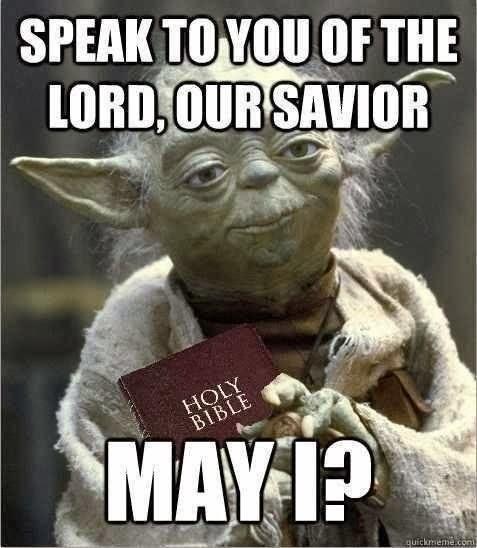 Yoda Christian May the fourth 1