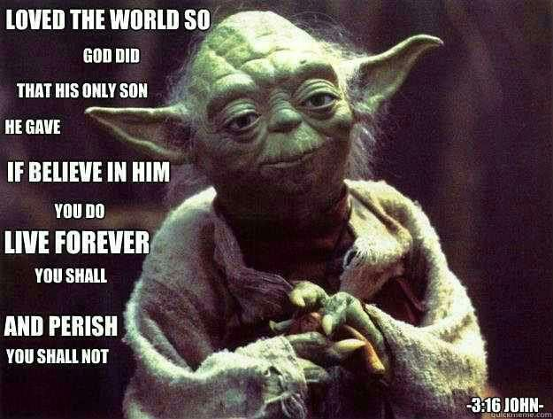 Yoda Christian May the fourth 2
