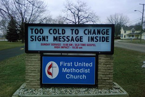 Church Sign fails funny 4