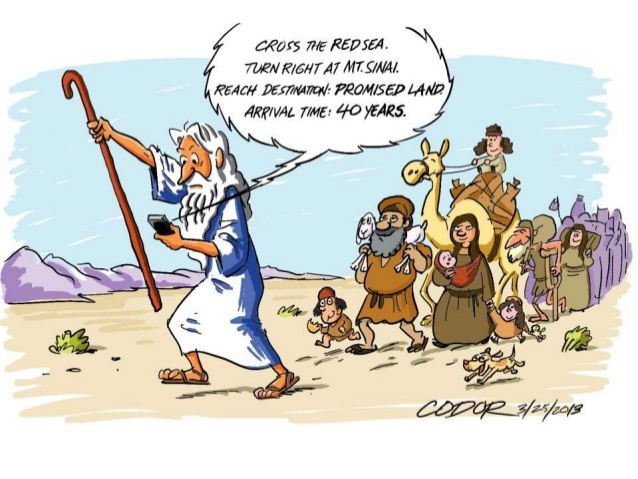 Story Of Moses In Th Desert  Years For Kids
