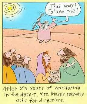 So What Was It Really Like For Moses Wandering In The Desert