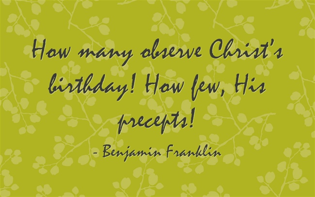 christmas quote christian 5 - Christmas Quotes Religious