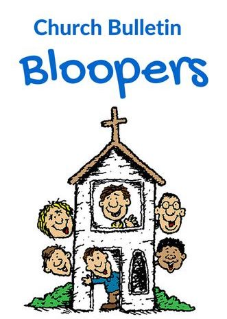 Funny church bloopers