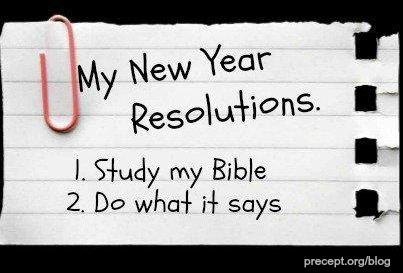 My New Year Resolutions | Christian Funny Pictures - A time to laugh