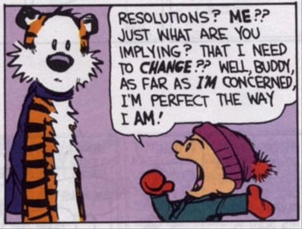A Christian New Years Resolution?