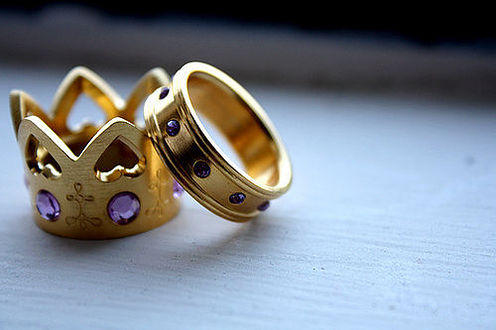 Amazing Wedding Rings King And Queen